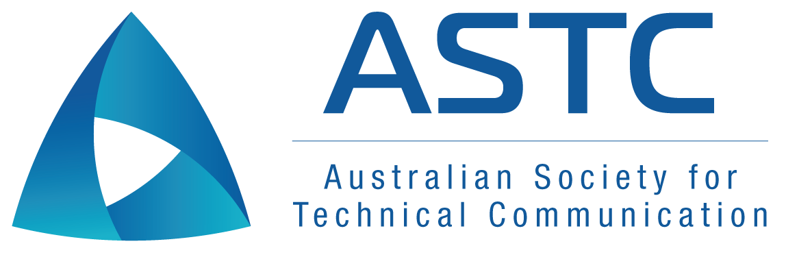 Logo for Australian Society of Technical Communication (ASTC)