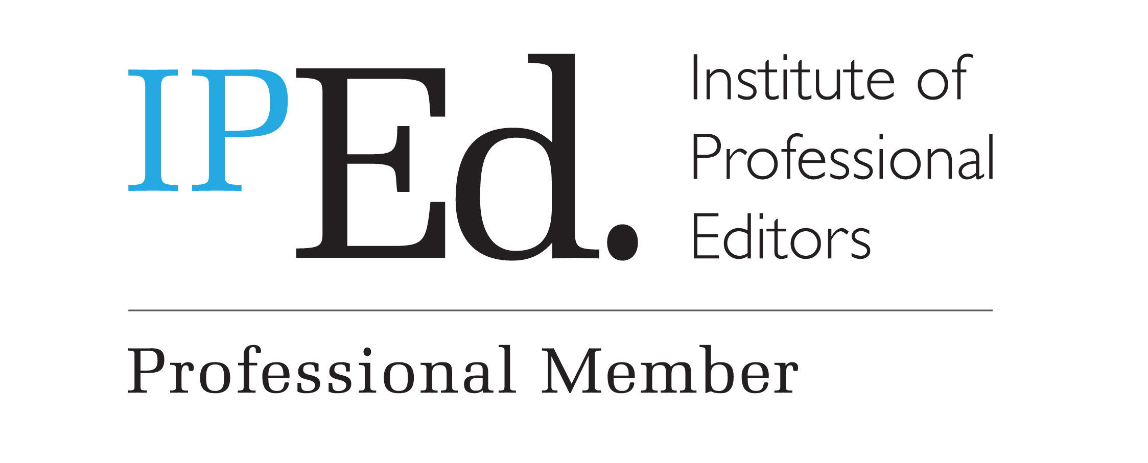 Logo for Institute of Professional Editors (IPEd)